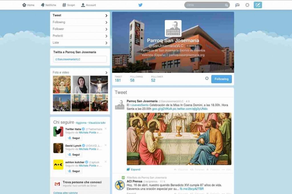 twitter parroquia san josemaria