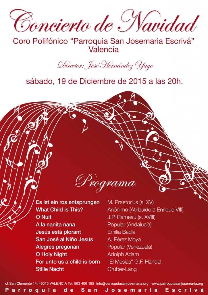 Concierto de Navidad 2014