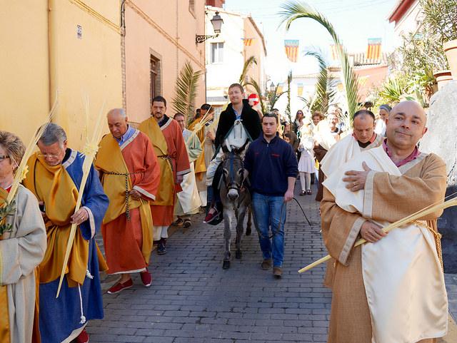 procesion de ramos