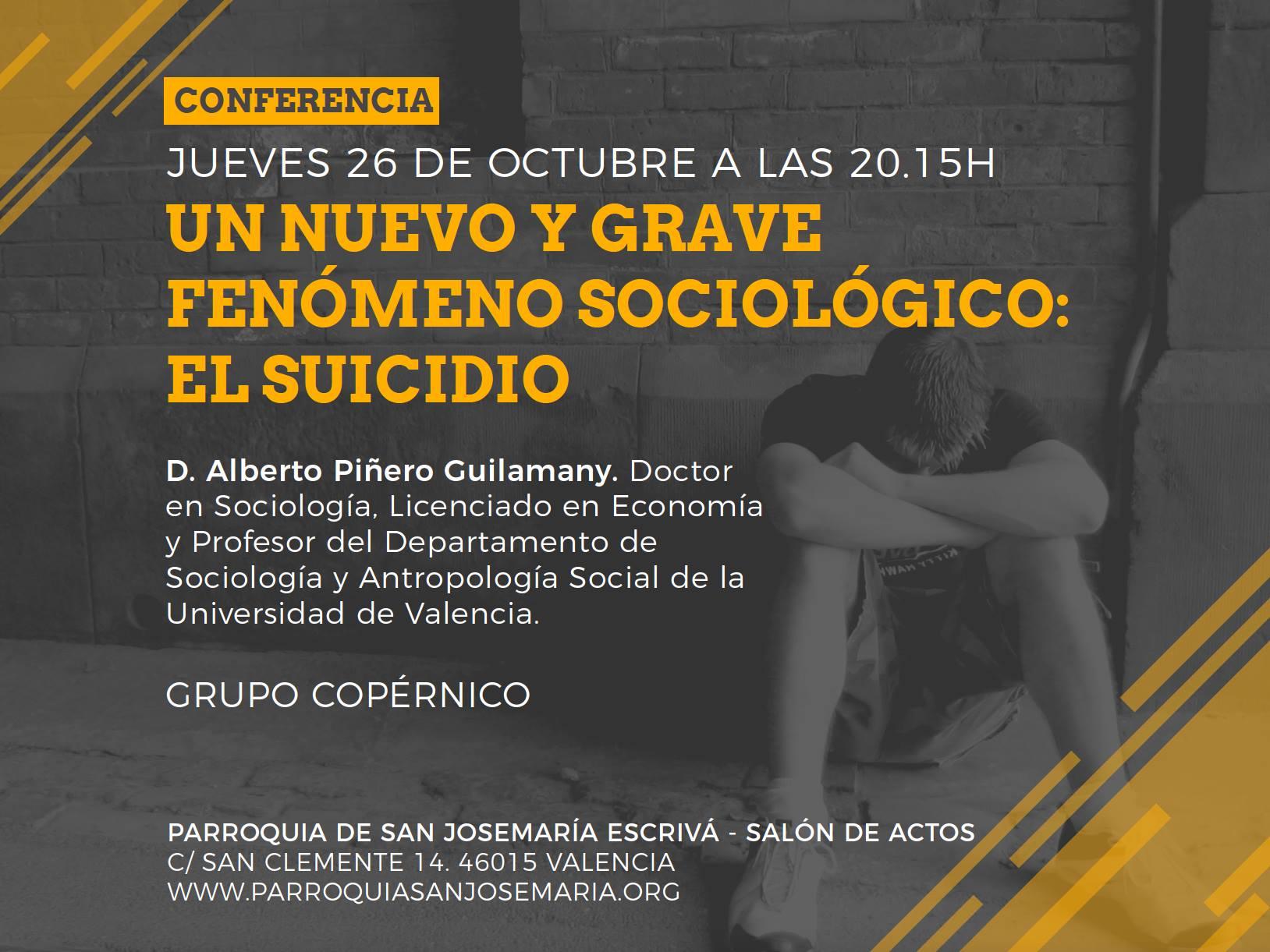 conferencia del suicidio