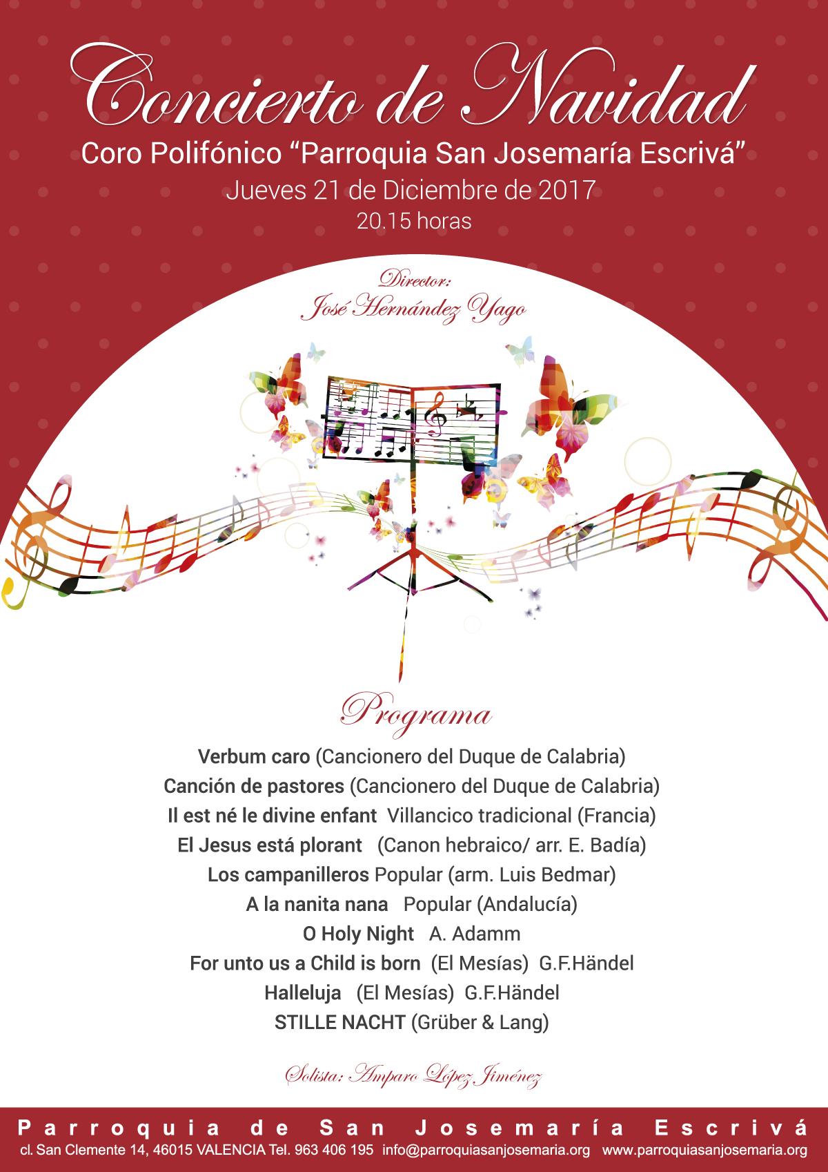 concierto de navidad 2017